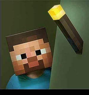 Think Geek 0847509001486 - Réplica de antorcha de Minecraft (28 cm)