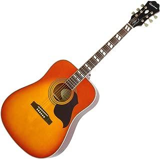 Epiphone Hummingbird Artist Acoustic Guitar Faded Cherry Sunburst