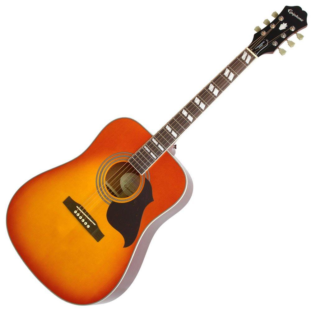 Epiphone eahrfcnh3 colibrí artista guitarra acústica: Amazon.es ...