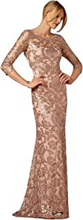 Best rose gold sequin mother of the bride dress Reviews