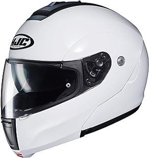 HJC Solid Men's CL-MAX 3 Modular Street Motorcycle Helmet - White/X-Large