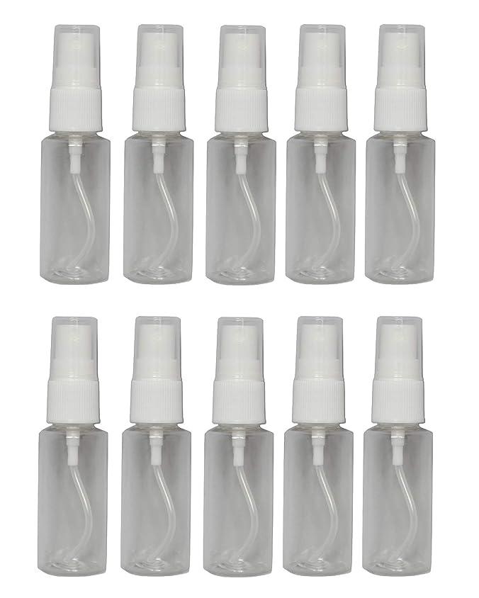 クラッシュスカウト今後ミニ スプレー 空ボトル 25ml × 10本 セット 空スプレー 詰め替え容器 プラスチック スプレー ボトル 0038