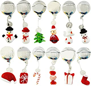 OMEM Christmas Aquarium Float Ball, Floating Snowman, Santa Claus, and Christmas Tree, Christmas Set, Aquarium Décor Ornaments