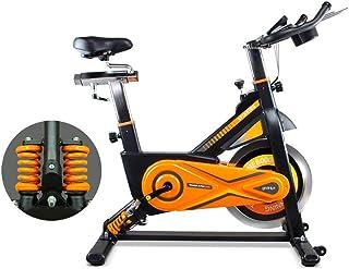 gridinlux. Trainer Alpine 8500. Bicicleta Spinning Pro Indoor. Volante de Inercia 25 kg, Nivel Avanzado, Sistema de Absorc...
