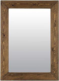 Amazon.it: specchio da parete - Marrone