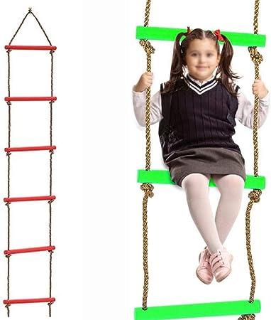 YLJYJ Escaleras de Cuerda para niños Cuerda de Escalada ...