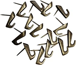 Cucumis Zinc Alloys That Do Not Need Accessories Push Pin Hanger 15Pcs