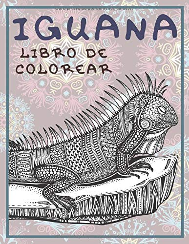 Iguana - Libro de colorear 🦎