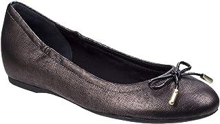 [ロックポート] レディース リボン付き レザー バレエシューズ 婦人靴 フラット パンプス 女性用