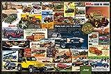 Autos - Poster - Jeep Vintage Ads + Ü-Poster