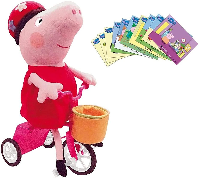 Peppa Pig and Her Bicycle (Bizak 61929178)
