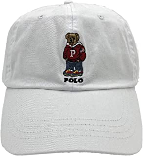 Polo Ralph Lauren Mens Teddy Bear Adjustable Ball Cap Polo Bear Hat