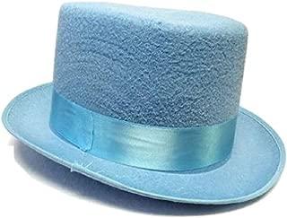 Blue or Orange Felt Dumb and Dumber Top Hat Adult Tuxedo Costume Accessory Prom