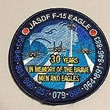 航空自衛隊 F-15イーグル導入30周年記念パッチワッペン