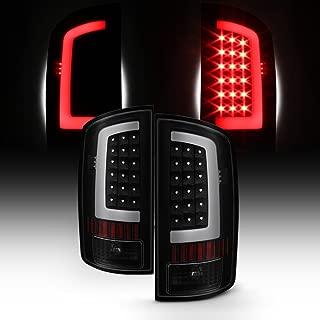 For 03-06 Dodge Ram 1500 2500 3500 LED DRL Light Tube Black Smoked Tail Brake Light Lamp Assembly