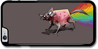 Nyan Cat Angry Rainbow Poo Illustration Emoji case for iPhone 6 Plus 6S Plus