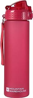 Mountain Warehouse Botella con tapón a presión sin BPA - 700 ml de Capacidad, tapón antigoteo, Reutilizable, con válvula de mordida y Ligera - para Deportes, Escuela