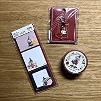 Moomin×Afternoon Tea リトルミイ マステ+付箋+チャーム アフタヌーンティー