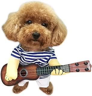 dog guitar costume