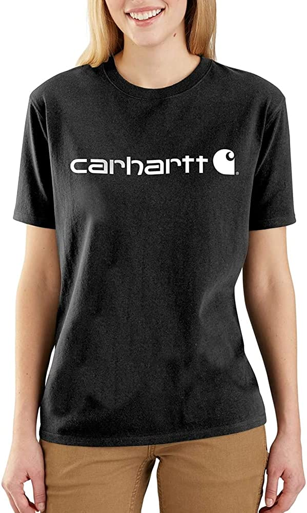 Carhartt Women's Wk195 Workwear T-Shirt Los Angeles Mall Logo A surprise price is realized Short