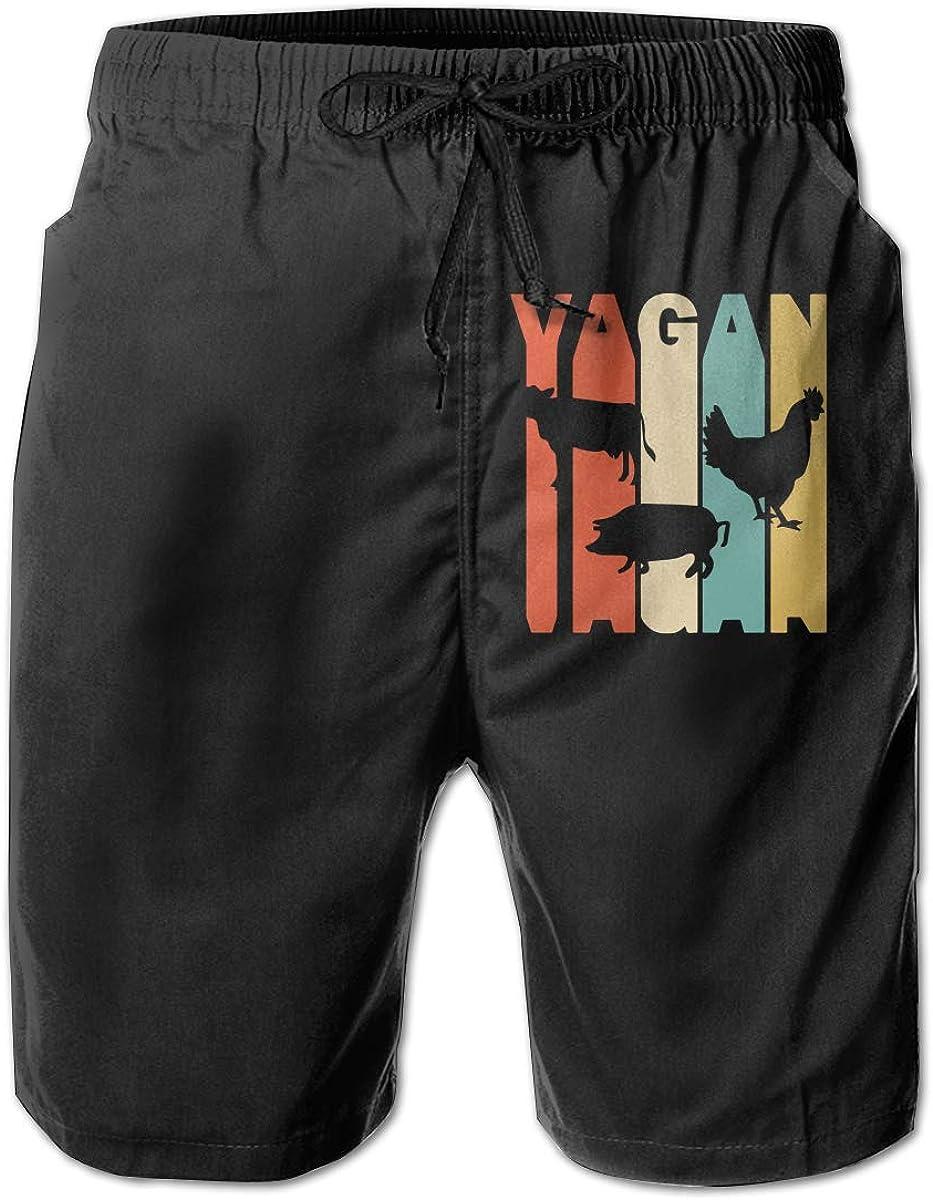 Super special price Retro Style Vagan Silhouette Board Beach Over item handling Pants Swim Shorts Short