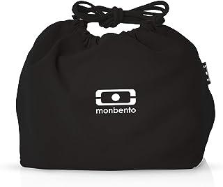 monbento 弁当袋 ブラック/ホワイト 100202001