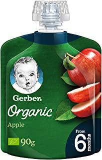 GERBER Organic Apple 90g(Pack of 1)