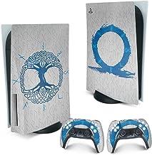 Skin PS5 Playstation 5 Adesivo - God Of War Ragnarok