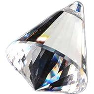 hierkryst 1.57 Inch Clear Centrum Drop Prisms, Pack of 5
