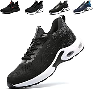 Fadezar Chaussure de Securité S3 Homme Femme Legere Baskets Securite Chaussure de Travail Vec Embout de Protection en Acie...