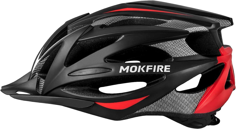 Adult Bike Helmet with Rechargeable USB Regular store Light M Rear Adjustable wholesale
