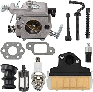 Trustsheer WT-286 Carburetor fit Stihl MS210 MS230 MS250 021 023 025 Chainsaw Carb Tuneup Kit with Air Filter