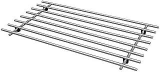 comprar comparacion Salvamanteles de acero inoxidable 50 x 28 cm, tamaño montado: 50 cm, ancho: 28 cm, altura: 2 cm, materiales de base: acero...