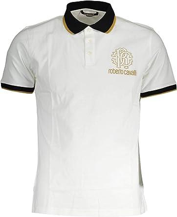 Roberto Cavalli Hombre Polo Shirt GST678A 00053 00053 Camisa Polo