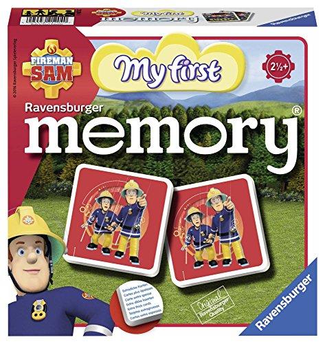 Ravensburger 21204 - Mein erstes memory Fireman Sam, der Spieleklassiker für die Kleinen, Kinderspiel für alle Fireman Sam Fans ab 2 Jahren
