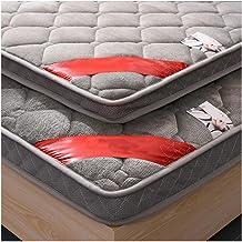 Tatami Mattress, Japanese Bed roll, Portable Thicken Pad Futon mat, Student Dormitory Folding Mattress,Single/Double Mattr...