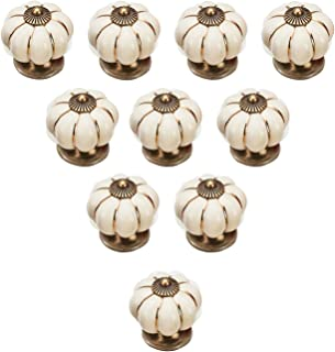 400 Multi-color Ceramic Knobs  Dresser Knobs Drawer Knobs European Pastoral Knob  Cabinet Knobs  Kitchen Door Knobs Furniture Hardware