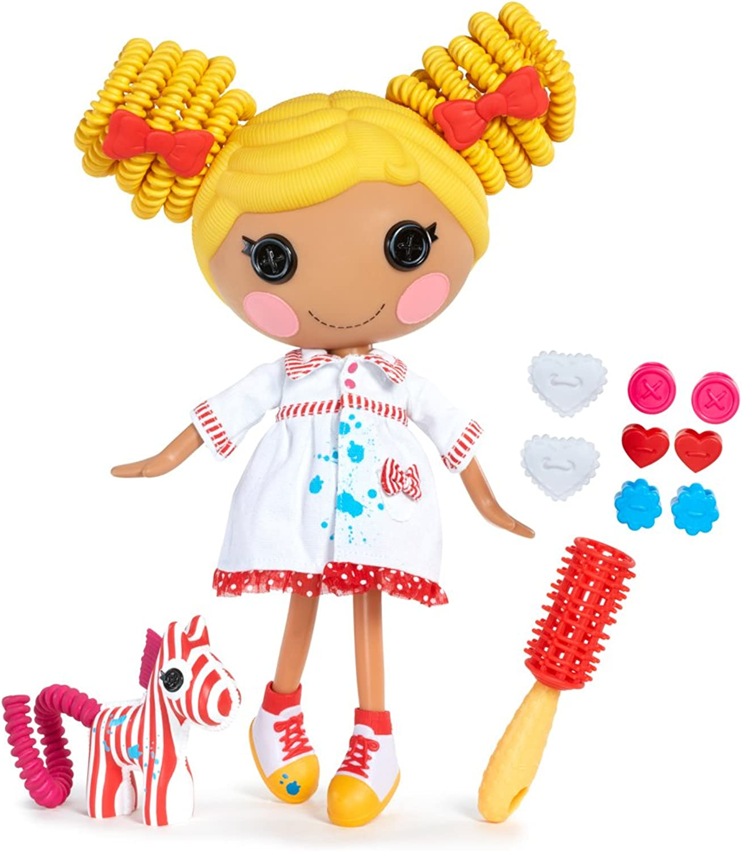 MGA Entertainment 516729E4C - Lalaloopsy Silly Hair Puppe- Spot Splatter Splash
