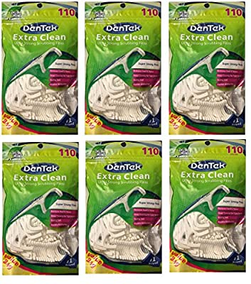 Dentek Pocket Picks With Protective Sleeves