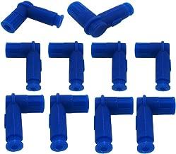 TC-Motor 10pcs/Pack Blue Rubber Ignition Coil Spark Plug Cap Cover For XR CRF CR KLX KX RM TTR TRX DRZ ATV Dirt Bike