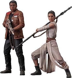 Kotobukiya Star Wars The Force Awakens Rey and Finn Artfx+ Statue