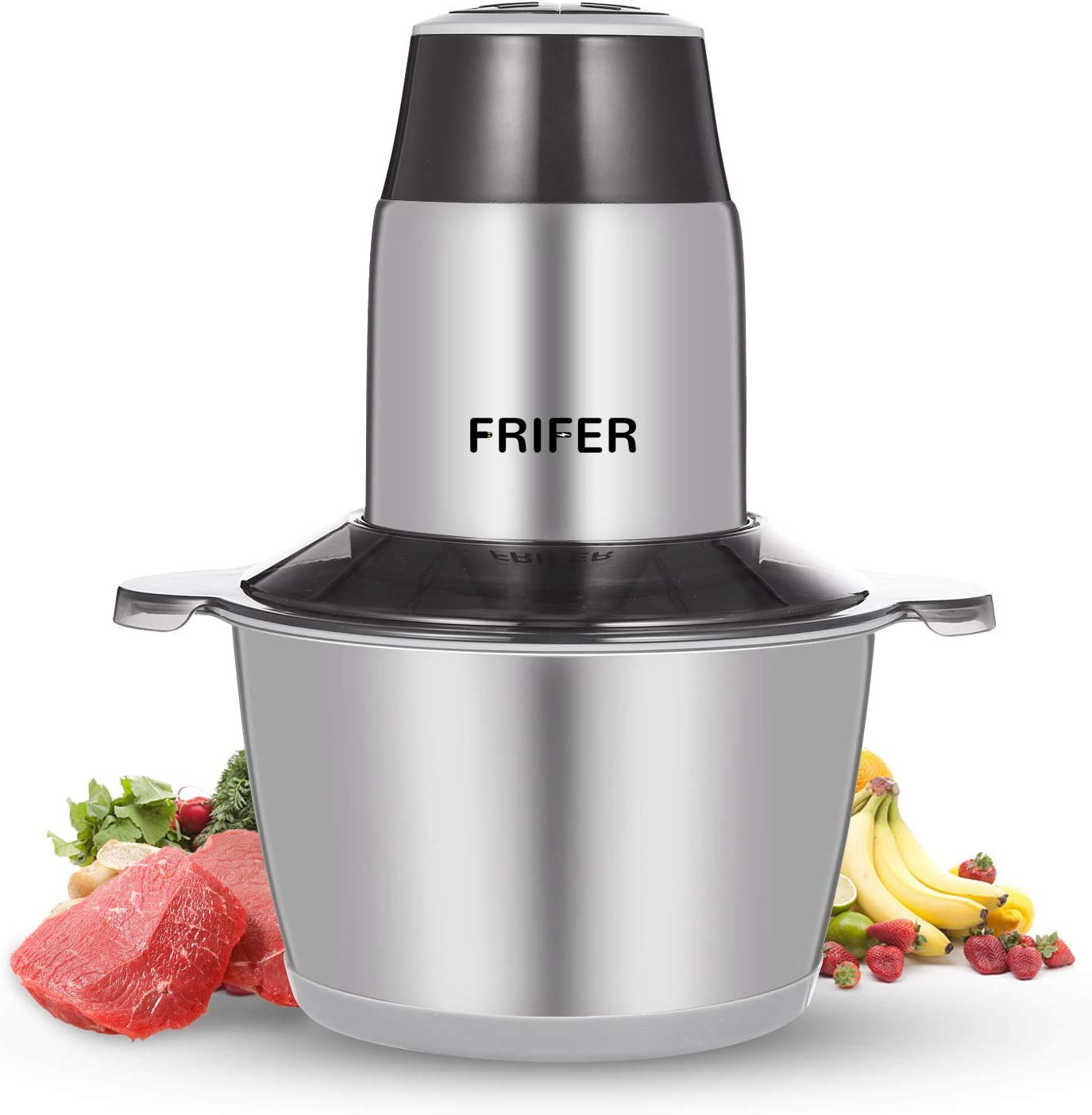 Frifer Electric Food Chopper Meat Grinder Phoenix Mall with 2L Popular popular Stai