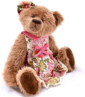 Sophia - Teddy Bear Light Brown Steiff Schulte Mohair Artist Collectable OOAK 15 inches