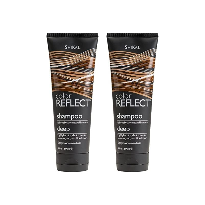 ShiKai Color Reflect Deep Shampoo 8 fl oz (237 ml) (Pack of 2) benhqihc478419
