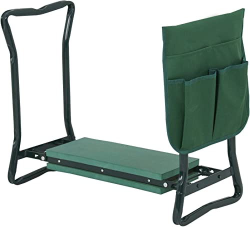 KornKan Folding Garden Kneeler Sturdy Gardener Kneeling Pad Seat Kneel Pad Seat Cushion