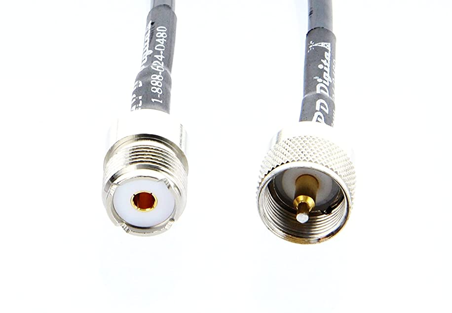 MPD Digital CNT-240 UHF Ham and CB RF Antenna Extension Cable - TWB-240-PL259-SO239-3FT- UHF PL259 Male to SO239 Female, 3FT rdqu0077552560