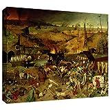 ArtWall Pieter Bruegel 「The Triumph of Death」 ギャラリーラップ キャンバスアート 36 x 48インチ