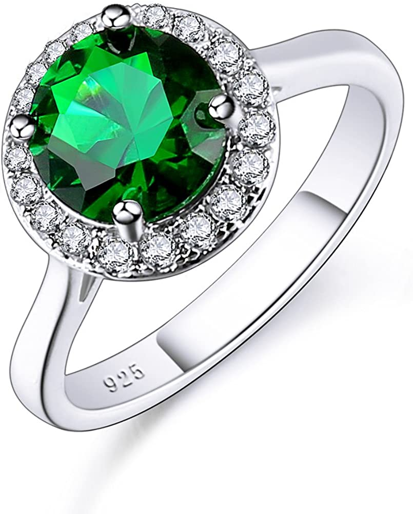 Psiroy 925 Sterling Max 49% OFF Silver Popular shop is the lowest price challenge Round Topaz Filled Created Rainbow Ha