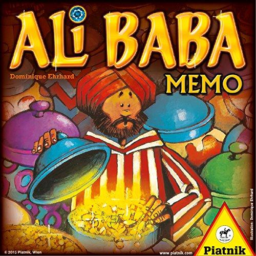 Piatnik 6579–Ali Baba Memo, Lege Juegos
