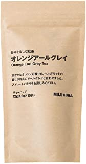 無印良品 香りを楽しむ紅茶 オレンジアールグレイ 12g(1.2g×10袋) 44099629 10袋